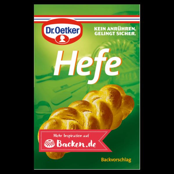 Dr. Oetker Hefe 4 Päckchen