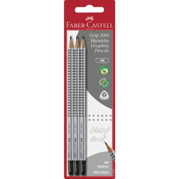 Faber-Castell Bleistift Grip 2001 2 Stück