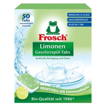 Frosch Limonen Geschirrspül-Tabs 50 Tabs