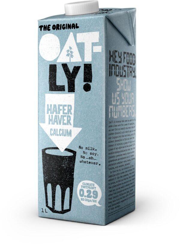 Qatly Hafer Calcium 1L