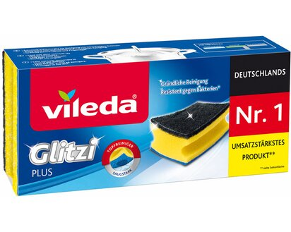Vileda Glitzi Plus Topfreiniger 3 Stück