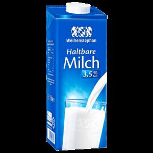 Weihenstephan H-Milch 3,5 % 1L