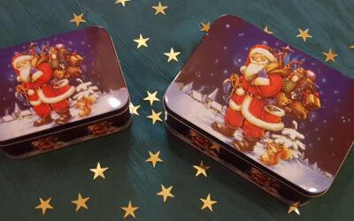 Die Weihnachts–Tee–Überraschungsboxen