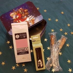 grosse Weihnachts–Tee–Überraschungsbox