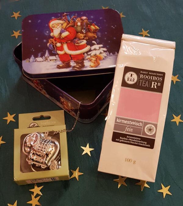 kleine Weihnachts–Tee–Überraschungsbox